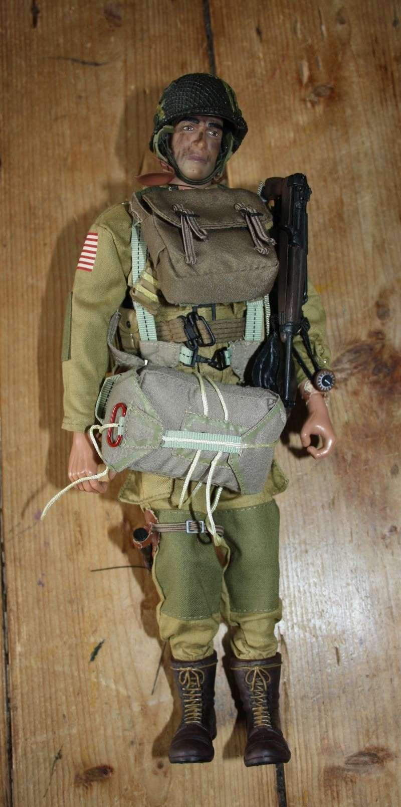 Mannequin parachutiste 82 AB US WW2 Para110