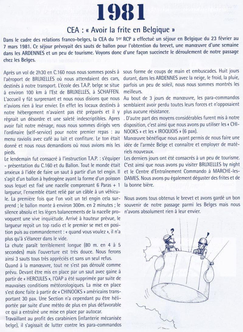 1° RCP 1981 - la CEA en Belgique - 1981_c10