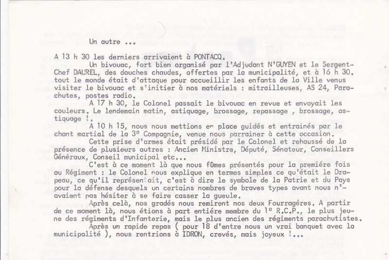 1er RCP les fourragères de la 73/10 Pontac11