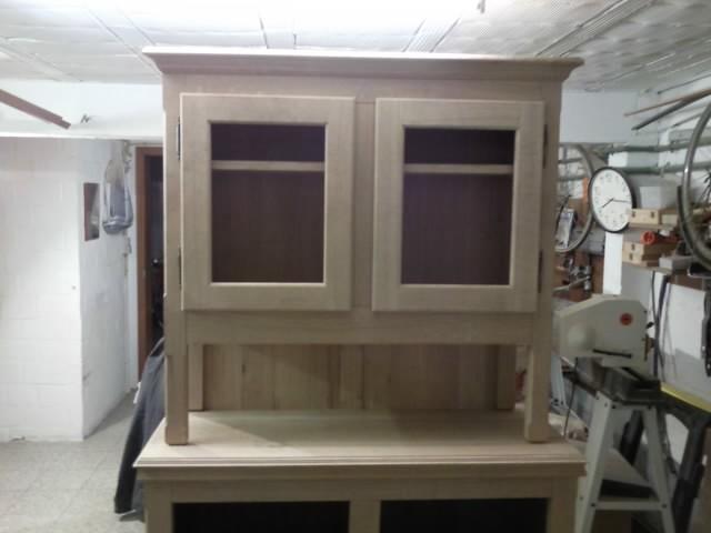 Dernière réalisation - meuble deux corps Snc00011