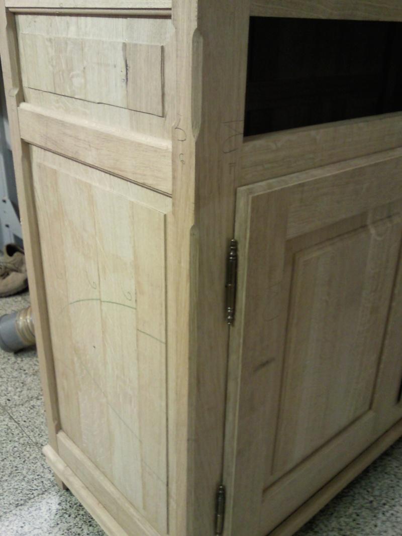 Dernière réalisation - meuble deux corps Snc00015