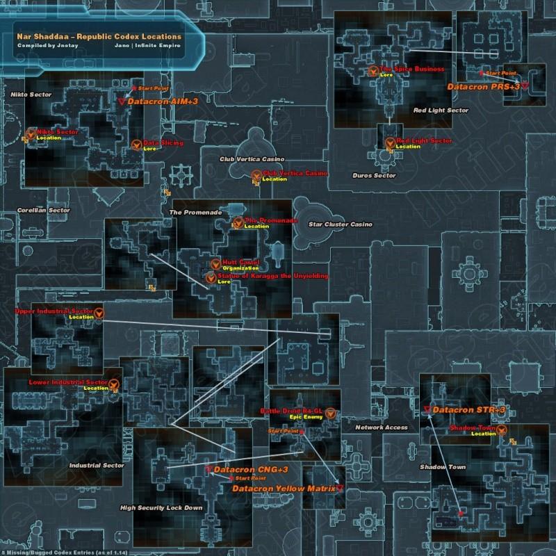 Entrées Codex par planète : Cartes Codex_12