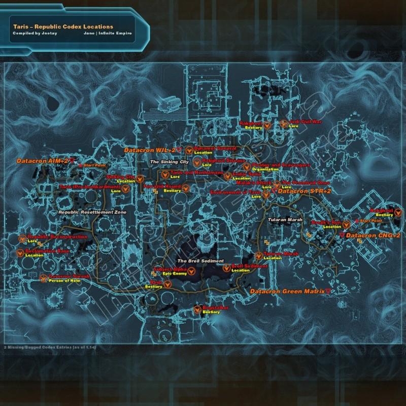 Entrées Codex par planète : Cartes Codex_16