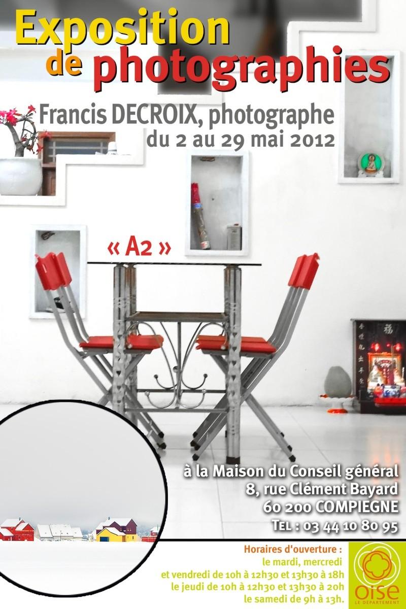 Exposition de photographies Compiègne Affich10