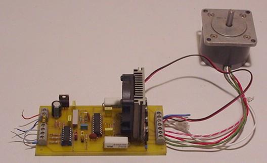 Electro érodeuse de conception amateur Driver10