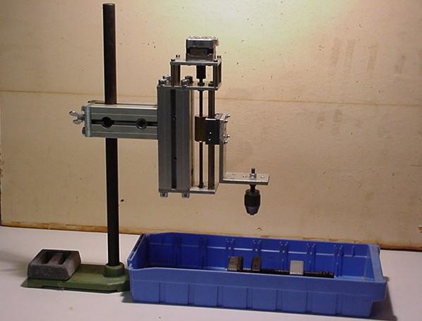 Electro érodeuse de conception amateur Pied10