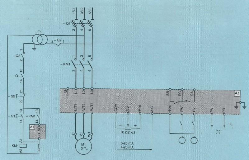 Myford Super 7 : cablage moteur Var110