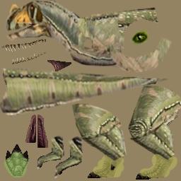 My New Ceratosaurus Skin  Cerato11