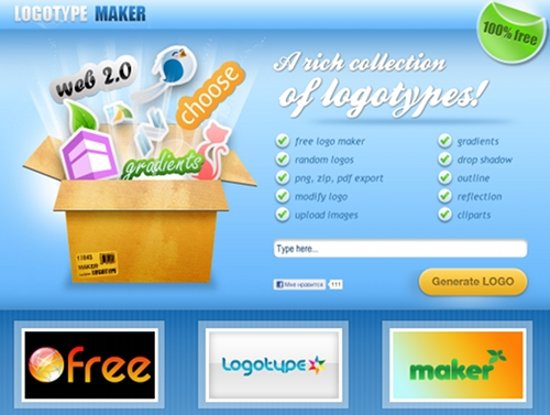 Free Logotype Maker : pour créer un logo gratuit Logoty10
