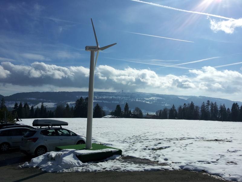 Mont Crosin dans Les Franches-Montagne (Suisse - Jura) 20121110