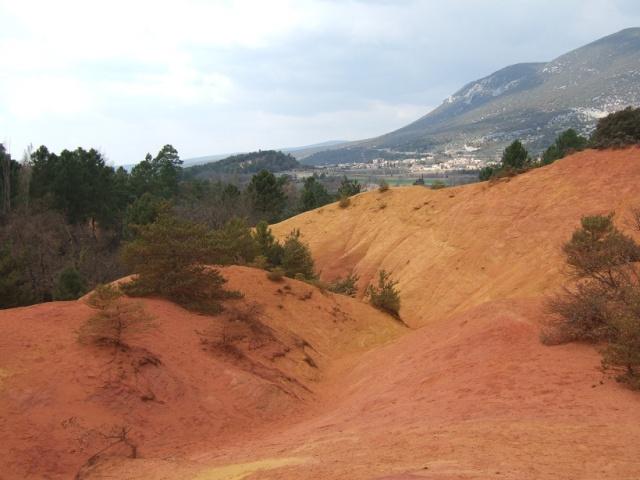 Balade dans le Colorado provençal - Rustrel (84) Dscf8316