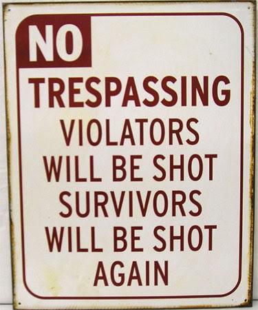 Trespaser problems! 10009510
