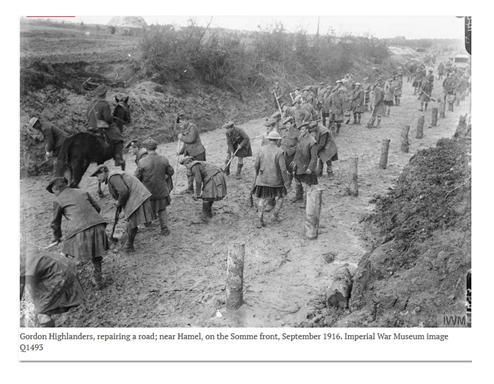 RESTAURATION D'UNE CORNEMUSE AYANT PARTICIPE A LA GRANDE GUERRE 1914/1918 1110