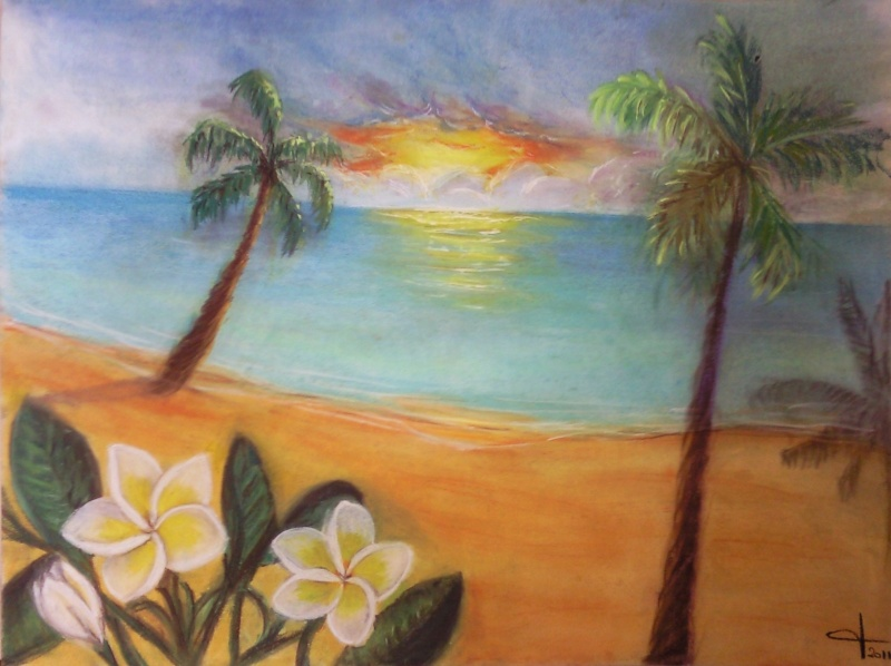 [Dessins] Mes divagations artistiques Sunset10