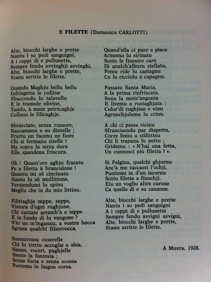 """Carlotti Dumenicu (Prete) """"Martinu Appinzapalu"""" 56102110"""