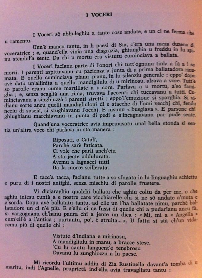 Voceri è Lamenti tradiziunali Voceri10