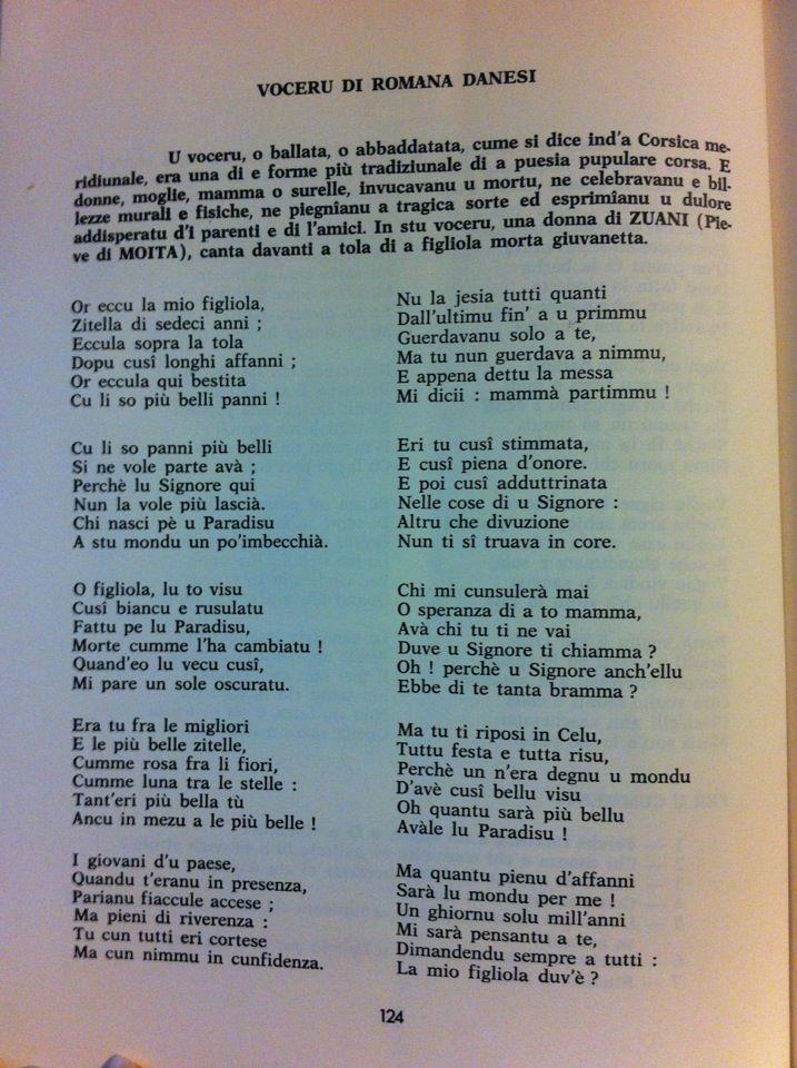 Voceri è Lamenti tradiziunali Voceru13