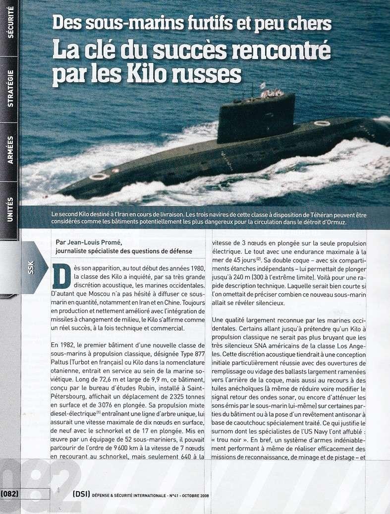 sous marins dans le monde - Page 3 Kilos_10