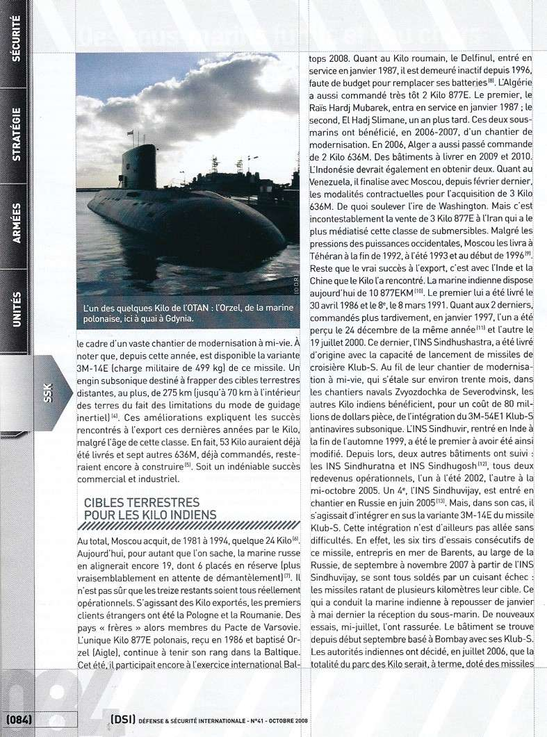 sous marins dans le monde - Page 3 Kilos_12