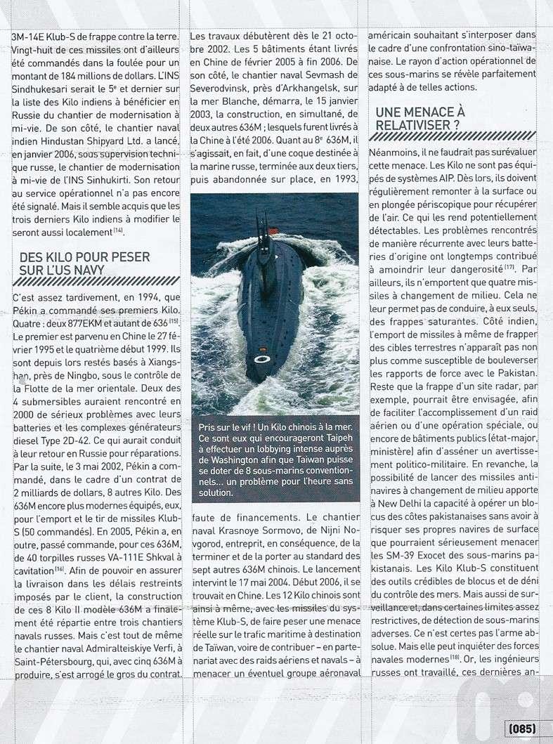 sous marins dans le monde - Page 3 Kilos_13