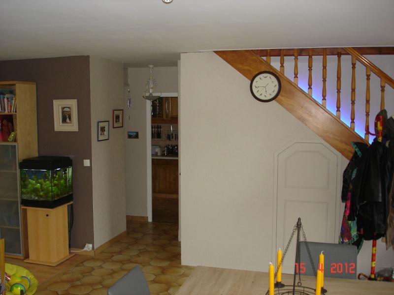 salon/salle à manger peinture 2 couleurs