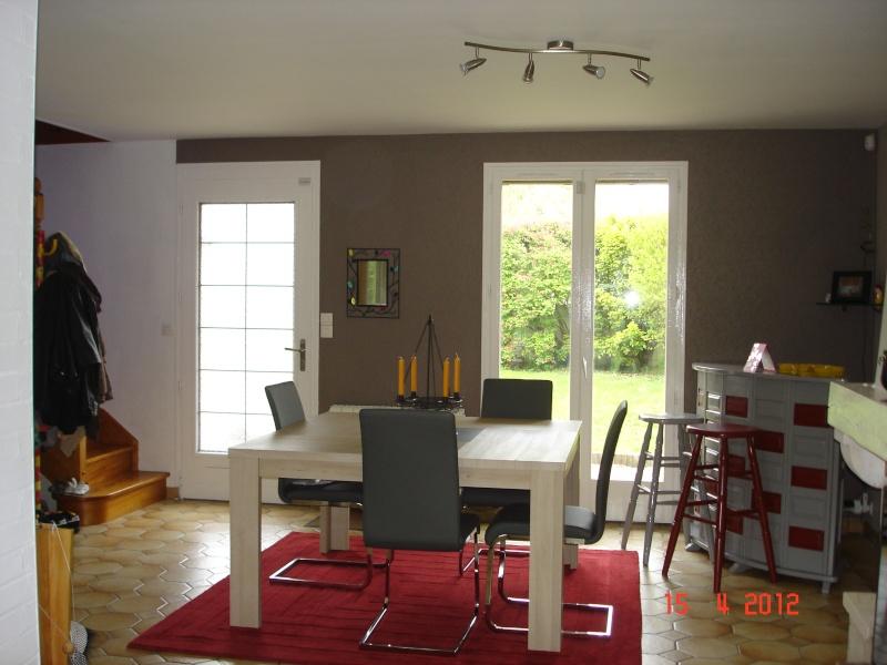 Salon salle manger peinture 2 couleurs - Couleur pour salon et salle a manger ...
