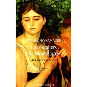 [Peyramaure,  Michel] Les escaliers de Montmartre  Les_es10