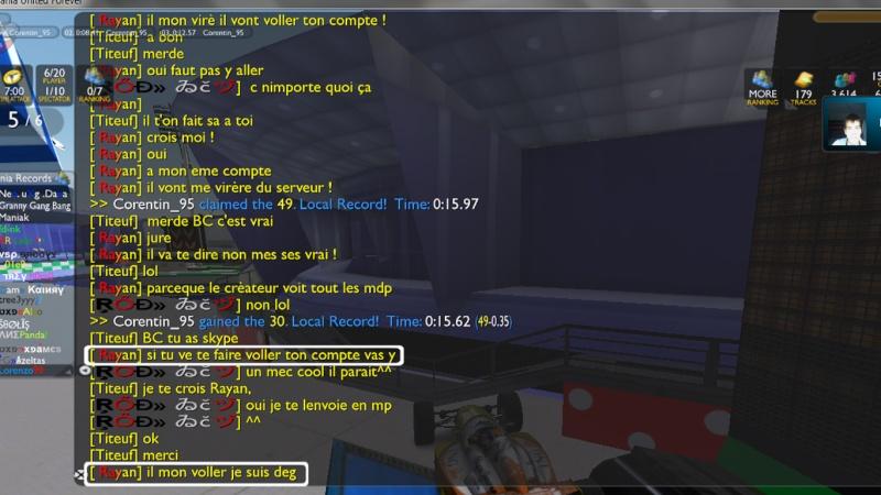 Insulte d'un Pilote TrackMania 210