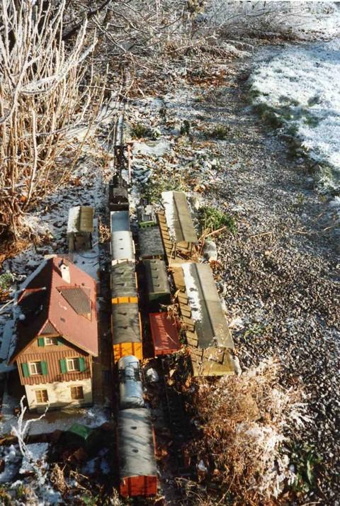 les Pelican Rail Road .. train de jardin en G Ancien10