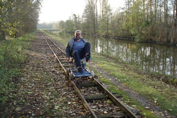 petit train de la Scarpe, Saint Amand les Eaux (59) Cyclin10