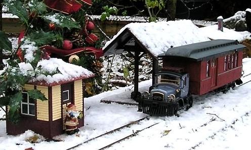 les Pelican Rail Road .. train de jardin en G Gallop10