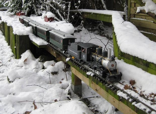 les Pelican Rail Road .. train de jardin en G Neige_10