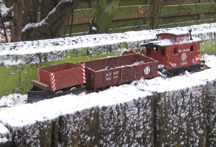 les Pelican Rail Road .. train de jardin en G Photo_49