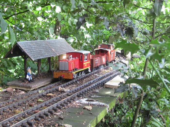 les Pelican Rail Road .. train de jardin en G Photo_50