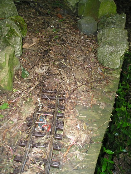 les Pelican Rail Road .. train de jardin en G Voie_e11