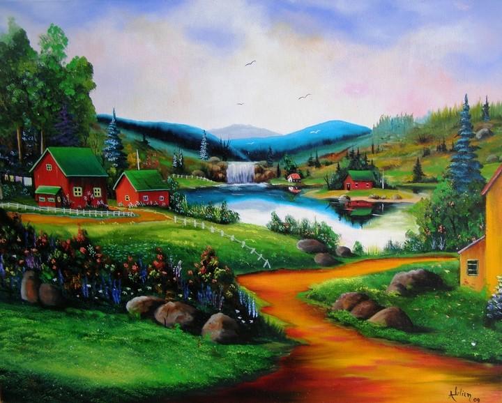 Ma passion ''La peinture'' Couleu10