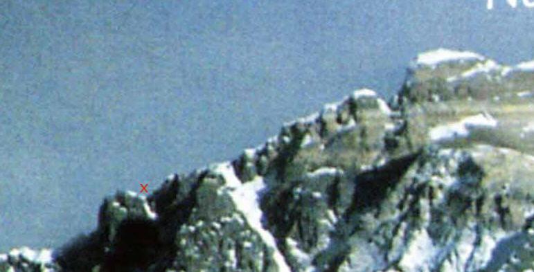 La spedizione britannica alla cresta NE dell'Everest, 1982 Cresta10