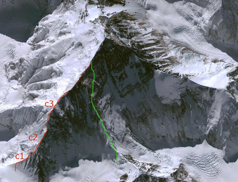 La spedizione britannica alla cresta NE dell'Everest, 1982 Everes12