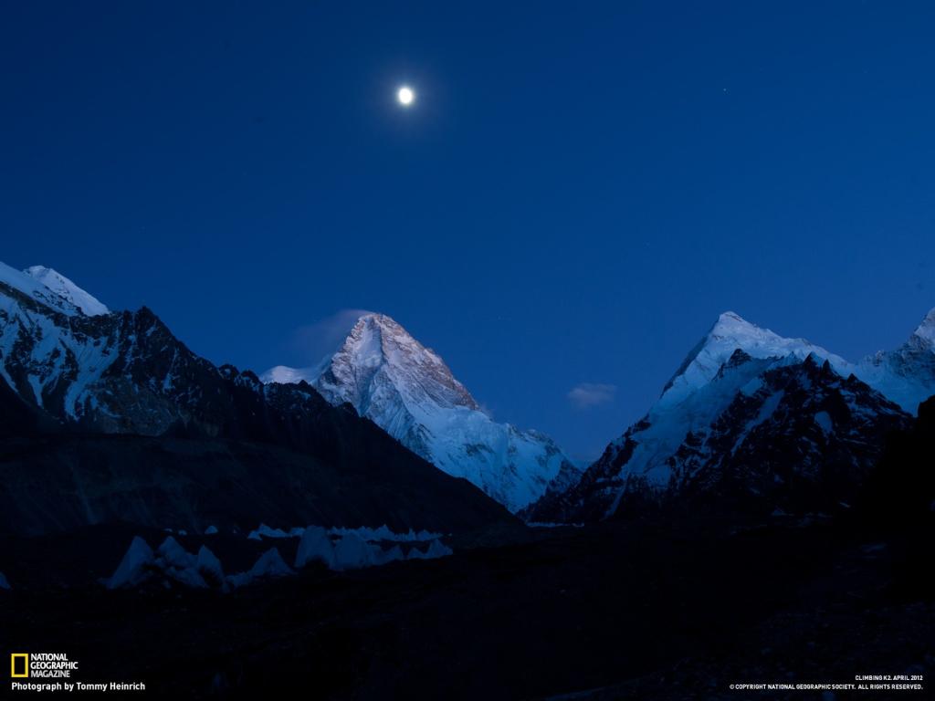 Gerlinde Kaltenbrunner K2 - dal NationalGeographic K2_cre10