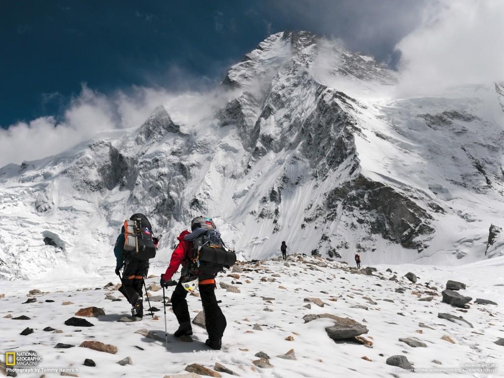 Gerlinde Kaltenbrunner K2 - dal NationalGeographic K2_ver10