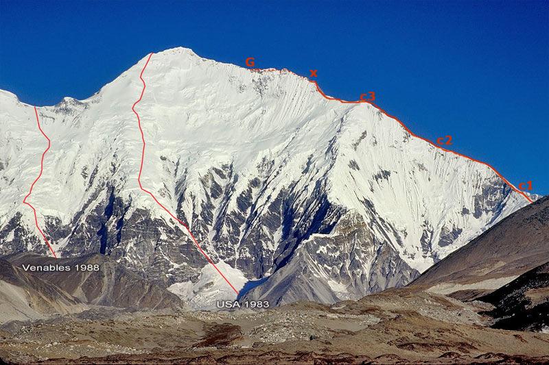 La spedizione britannica alla cresta NE dell'Everest, 1982 Kanshu10