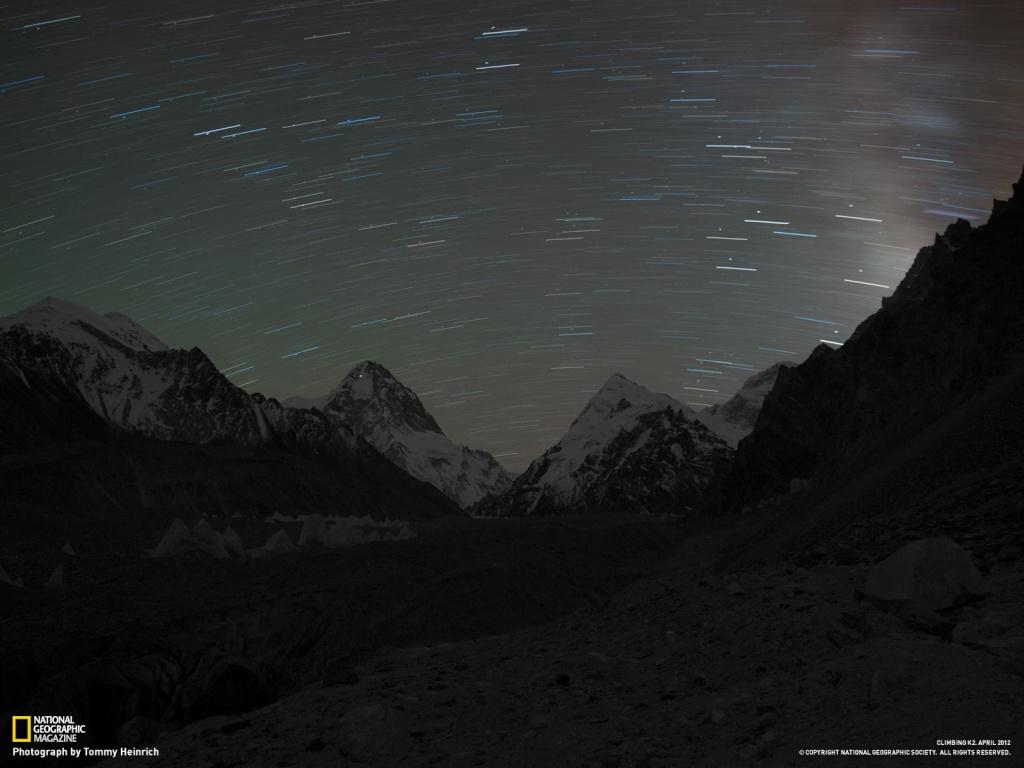 Gerlinde Kaltenbrunner K2 - dal NationalGeographic Luce_t10