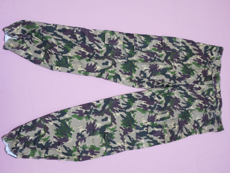 Spanish amoeba camo uniform 52010