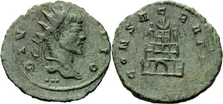 Les monnaies de Consécration de Barzus - Page 2 Claude10