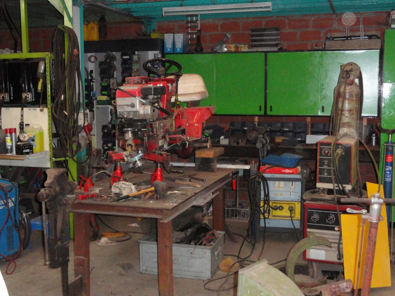 Un tracteur tondeuse de bric et de broc !! 2012_015