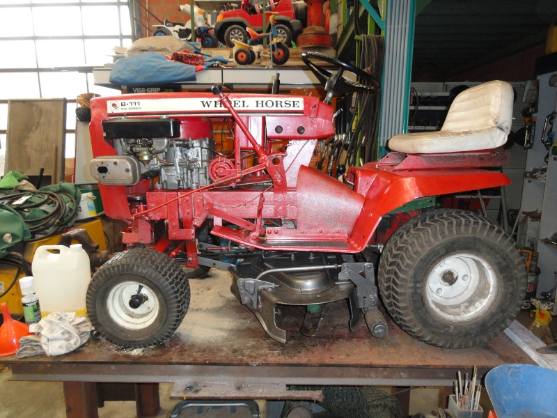 Un tracteur tondeuse de bric et de broc !! 2012_017