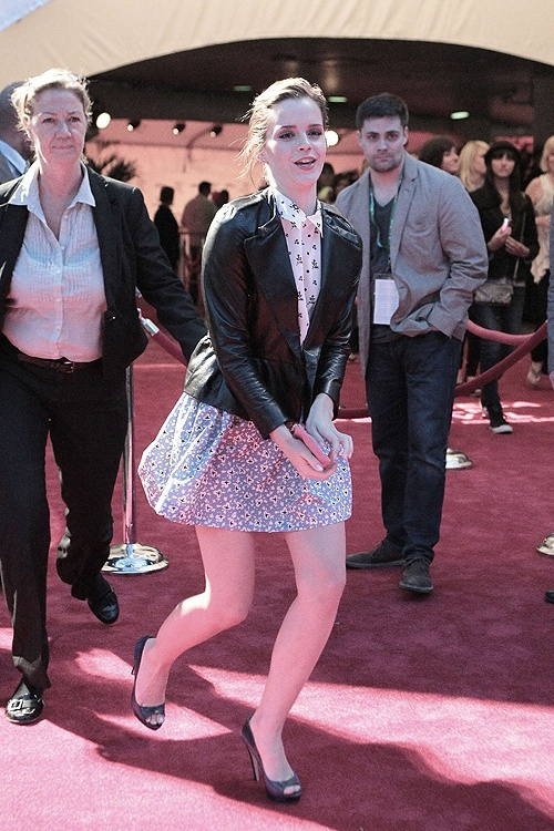 Emma Watson au festival Tribeca de New York. Kx1rb10