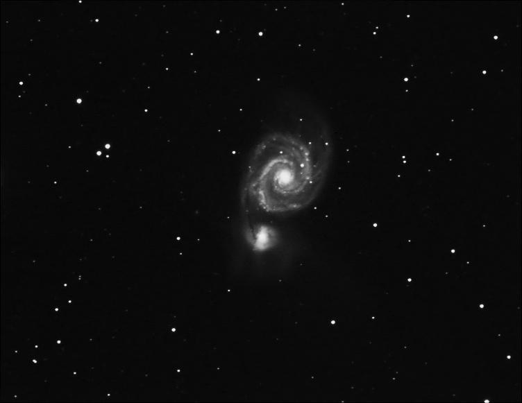 Serie d'images du Morvan M51_gl10