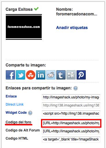 ¿Como subir una foto en foromercadona.com? Imagen10