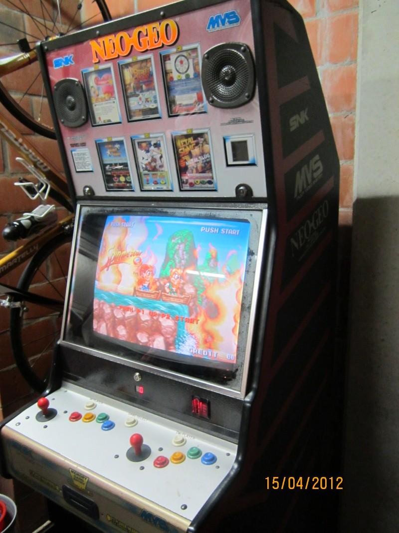 [VDS] Cabinet NeoGeo MVS 6-slot (161 jeux top) Cabine10